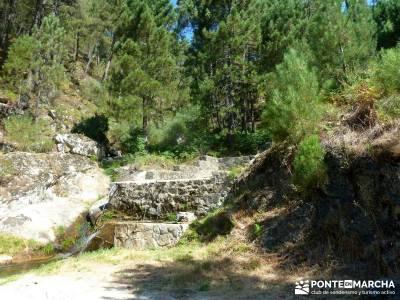 Cascadas de Gavilanes; grupo de senderismo madrid;viajes de montaña;montañismo